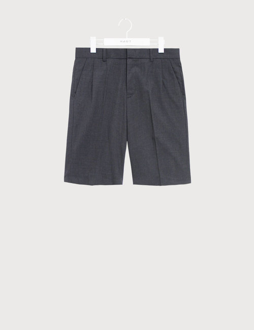 Dark grey half Slacks [HS46]