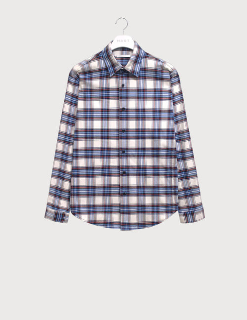 Flannel oversize check shirts [HST16]