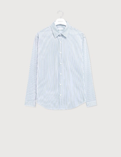 Blue multi stripe shirt [HST17]