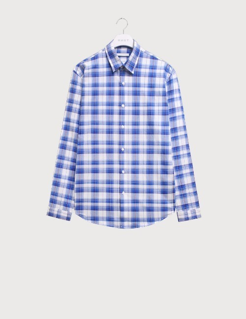 Blue check shirts [HST19]