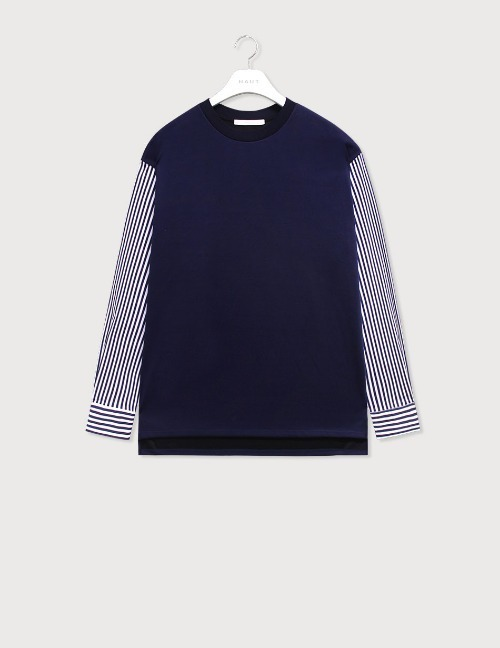 Sleeve stripe sweatshirts [HSW10]