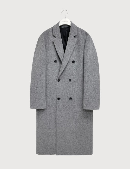 Cashmere grey double coat [HC23]
