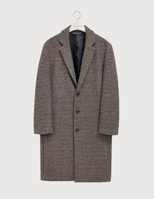 Shepherd check coat [HC25]