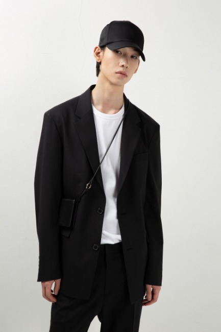Black single jacket [HO19] - 제일모직