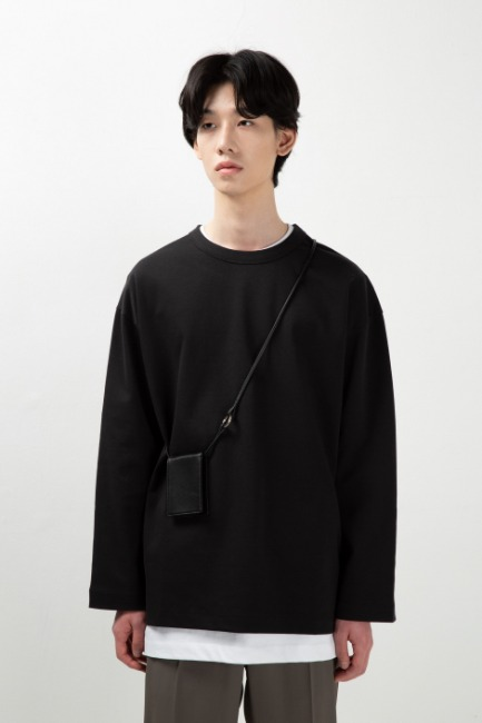 Over basic sleeve T [HT52] - 재입고